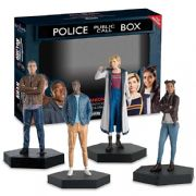 Doctor Who Figurine Collection 13th Doctor Ryan Yaz Graham Companion Set Eaglemoss